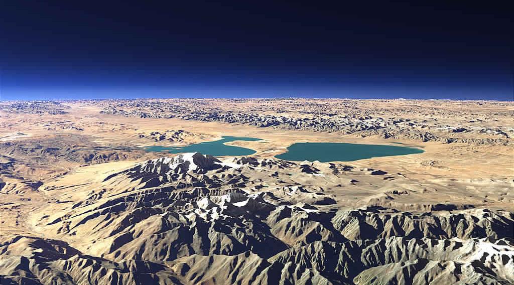 Kailash-Manasarovar-Aerial-view