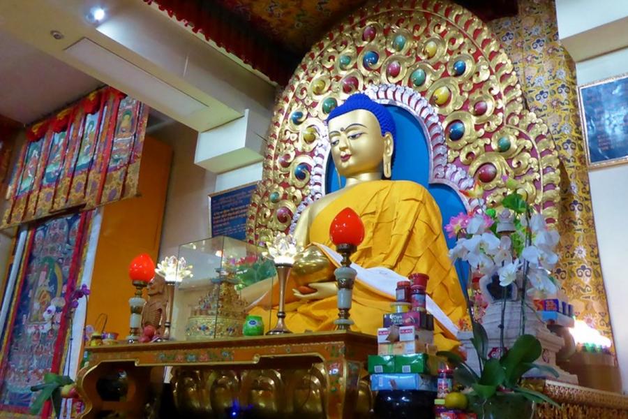 Dalai lama Temple, Dharmashala