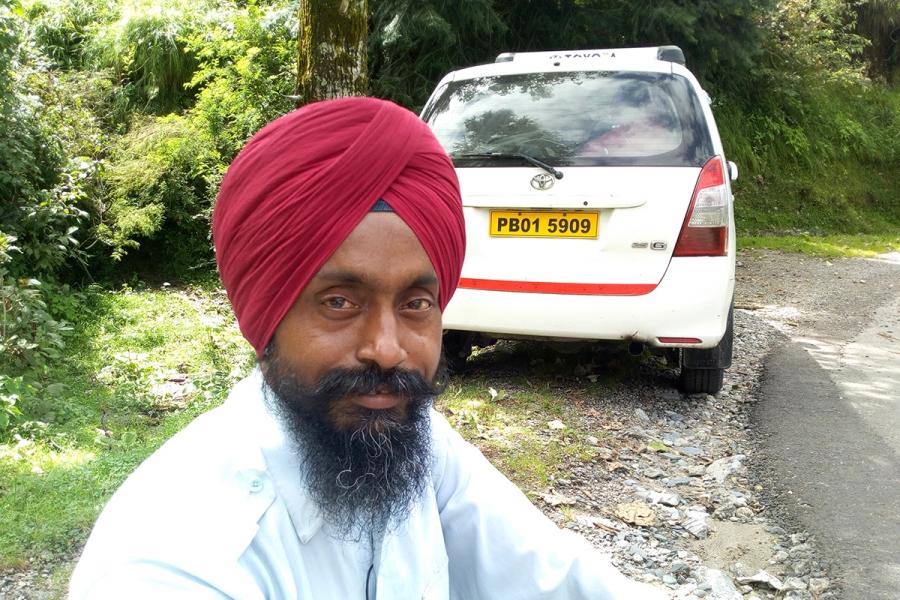 Raju Paji and his car